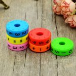 6Pcs Magnetic Puzzles Table Games Montessori Educational Board Game Toy For Kids Math Numbers DIY Assembling Puzzles Board Games