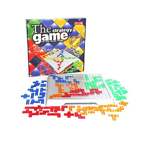 Strategy Game Blokus Board Game Educational Toys 484 Squares Game Easy To Play Children Russian Box Series Family Party Game