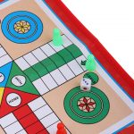 Traditional Flight Ludo Board Game
