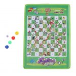 Foldable Mini Travel Snakes and Ladders Game