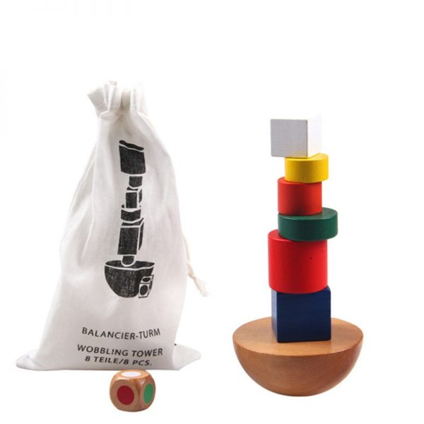 Family/Party Balance Building Board Game with Bag