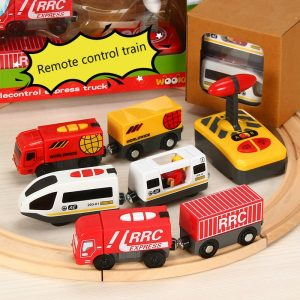Remote Control RC Electric Small Train Toys Set
