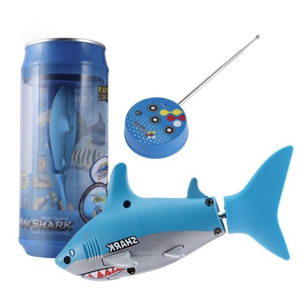Mini RC Submarine 4 CH Remote Small Sharks With USB Remote Control