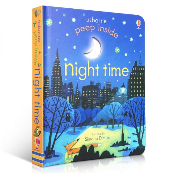 Usborne Peep Inside Night Time Story Book