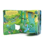 Usborne Peep Inside The Jungle Story Book