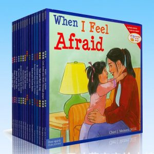 15 Books Set When I Feel Afraid Story Book