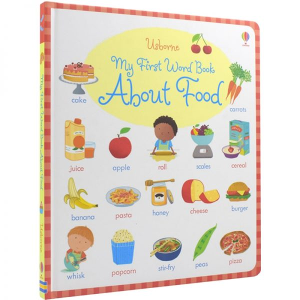 Usborne My First Word Book About Food Reading Book