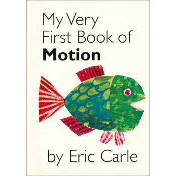 My Very First Book of Motion By Eric Carle  Coloring Book