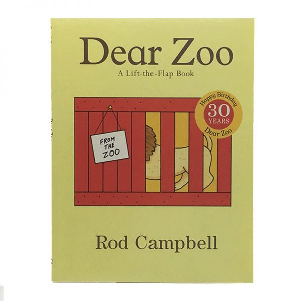 Dear Zoo: A Lift-the-Flap Book By Rod Campbell Story Book