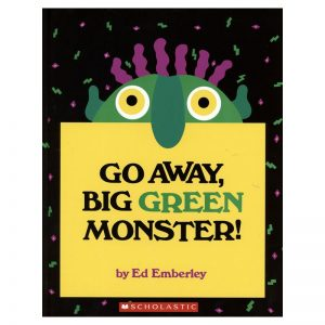 Go Away Big Green Monster Story Book