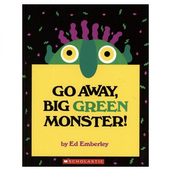 Go Away Big Green Monster Story Book