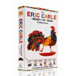 6 Books Set Eric Carle Ready-to-Read Collection